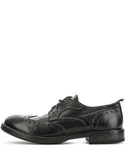 Moma | Черные Кожаные Туфли С Перфорацией