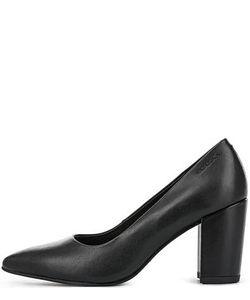 Vagabond | Кожаные Туфли На Устойчивом Каблуке
