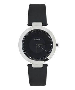 DKNY   Часы С Черным Кожаным Ремешком