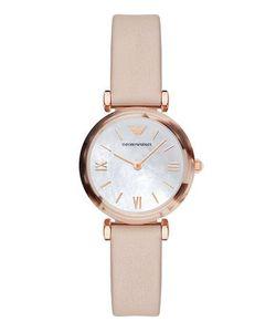 Emporio Armani | Часы С Тонким Розовым Ремешком