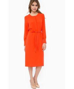 ICHI | Платье С Манжетами И Поясом
