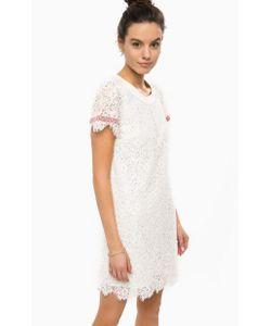 Patrizia Pepe | Кружевное Платье С Короткими Рукавами