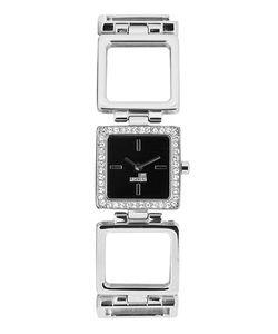 Moschino | Часы Квадратной Формы С Отделкой Стразами
