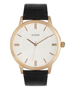Guess | Часы С Кожаным Ремешком И Белым Циферблатом