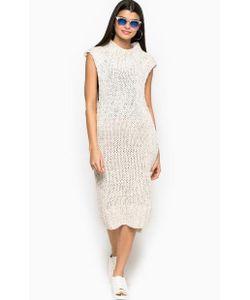 Glamorous | Платье Крупной Вязки С Объемным Воротом