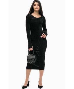 Pinko | Черное Платье Прямого Кроя