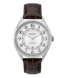Gant | Часы С Кожаным Ремешком С Выделкой Под Рептилию