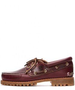 Timberland | Кожаные Ботинки С Отделкой Под Топсайдеры