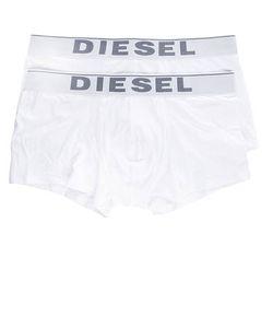 Diesel | Комплект Из Двух Белых Трусов-Боксеров