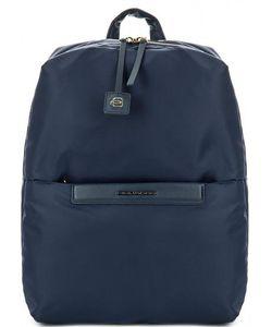Piquadro | Текстильный Рюкзак Синего Цвета