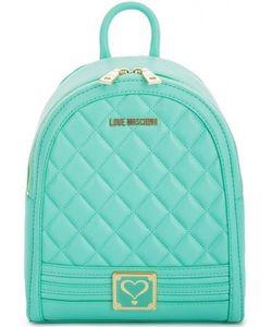 Love Moschino | Маленький Рюкзак Мятного Цвета На Молнии