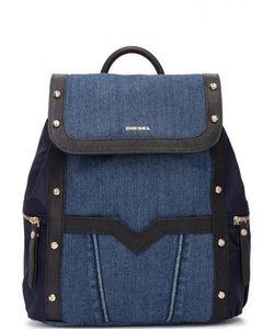 Diesel | Текстильный Рюкзак С Металлическим Декором