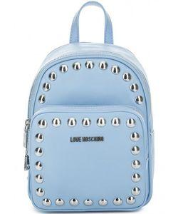 Love Moschino | Маленький Рюкзак С Металлическим Декором