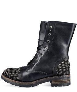 Felmini   Кожаные Ботинки С Металлической Отделкой