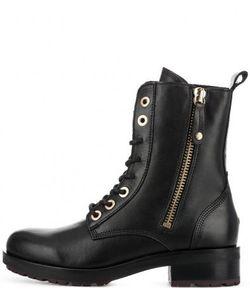 Tommy Hilfiger | Высокие Кожаные Ботинки