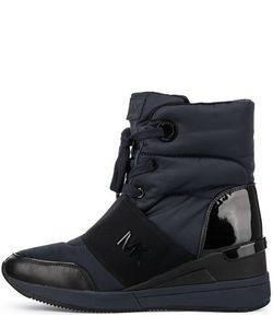 Michael Michael Kors | Текстильные Ботинки На Танкетке