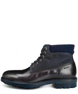 Gant | Кожаные Ботинки С Текстильным Голенищем