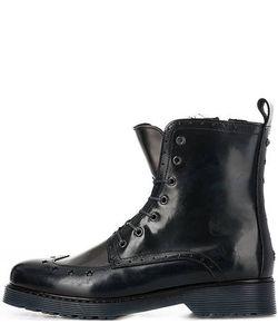 Tommy Hilfiger | Кожаные Ботинки На Молнии И Шнуровке