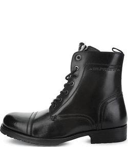 Pepe Jeans London | Высокие Кожаные Ботинки На Каблуке