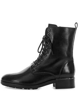 Högl | Черные Кожаные Ботинки