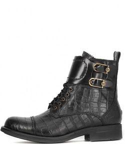 Tommy Hilfiger | Ботинки Из Натуральной Кожи С Выделкой Под Рептилию