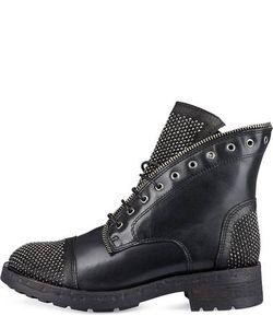 Felmini | Кожаные Ботинки С Отделкой Стразами