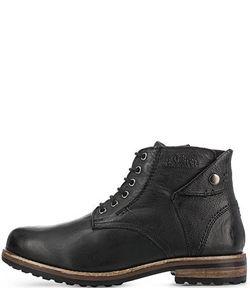 s.Oliver | Кожаные Ботинки На Молнии И Шнуровке