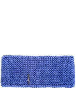 Capo | Синяя Шапка-Повязка С Флисовой Подкладкой