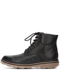 Clarks | Зимние Кожаные Ботинки На Шнуровке