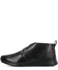 Geox | Черные Кожаные Ботинки