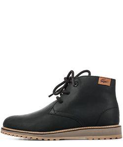 Lacoste | Кожаные Ботинки Черного Цвета