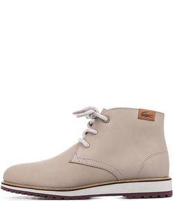Lacoste | Кожаные Ботинки Серого Цвета