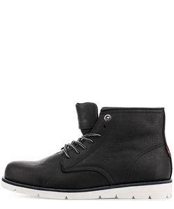 Levi's® | Черные Кожаные Ботинки