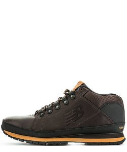 New Balance | Кожаные Ботинки С Текстильными Вставками