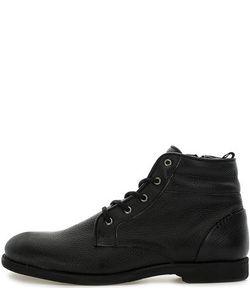 Nobrand | Черные Кожаные Ботинки