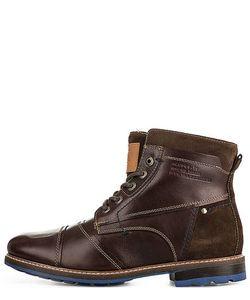 s.Oliver | Кожаные Ботинки С Меховой Подкладкой