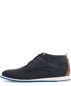 s.Oliver | Ботинки Из Нубука На Шнуровке
