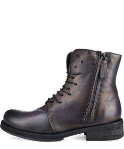 Felmini | Кожаные Ботинки На Небольшом Каблуке