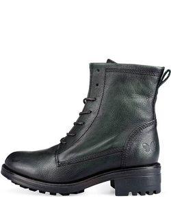 Felmini   Зеленые Кожаные Ботинки
