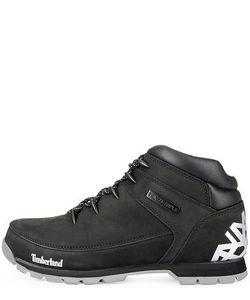 Timberland | Черные Ботинки На Шнуровке