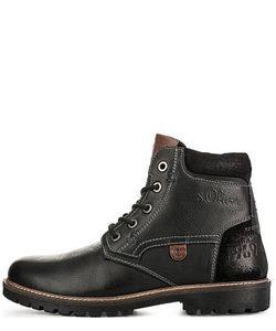s.Oliver | Кожаные Ботинки С Вставками Из Нубука