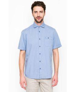 LERROS | Синяя Приталенная Рубашка