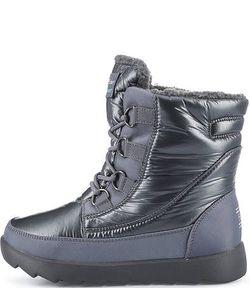 Skechers | Высокие Утепленные Ботинки Из Текстиля