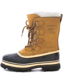 Sorel | Высокие Непромокаемые Ботинки Из Нубука И Резины