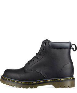 Dr. Martens | Ботинки Из Натуральной Кожи Черного Цвета