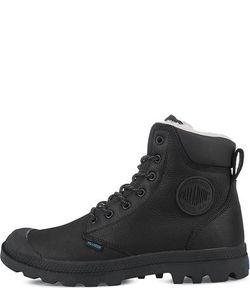 Palladium | Черные Кожаные Ботинки На Шнуровке