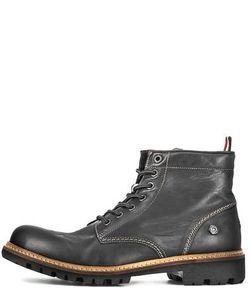 Hilfiger Denim | Кожаные Ботинки С Контрастной Строчкой