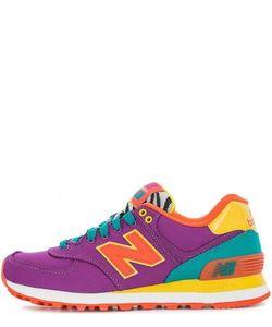 New Balance | Разноцветные Текстильные Кроссовки