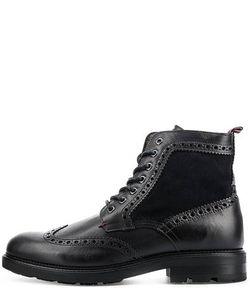 Tommy Hilfiger | Кожаные Ботинки С Брогированием