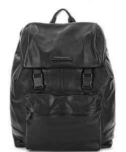 Tommy Hilfiger | Вместительный Кожаный Рюкзак